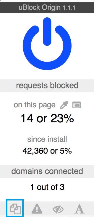 Preventing Pop-Under Ads on Google Chrome using uBlock
