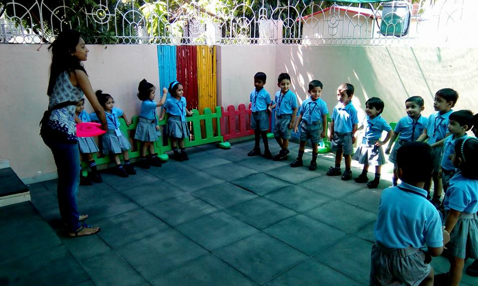 Shri Ram Global School Introduction Of Outdoor To Nursery Kids In New Colony Gurgaon