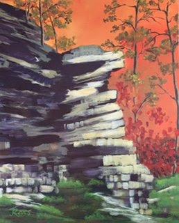 Acrylic, Painting, Bruce Peninsula, Judy Ross