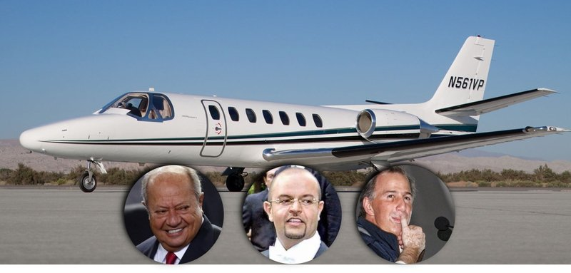 """Deschamps, su hijo y Meade usaban el avión """"contra el Huachicoleo"""" para vacacionar"""