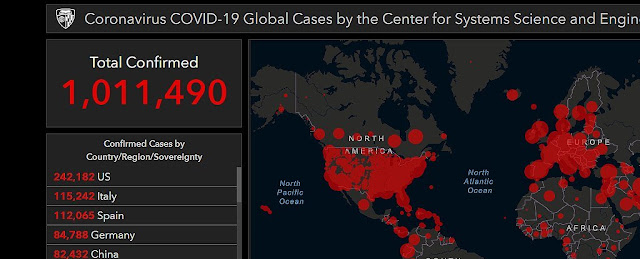 It's Official: Over 1 Million Global Coronavirus Cases Have Been Detected