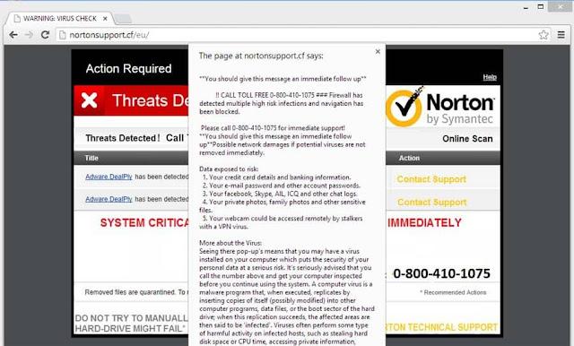 redirecciones a Attention-protect.host