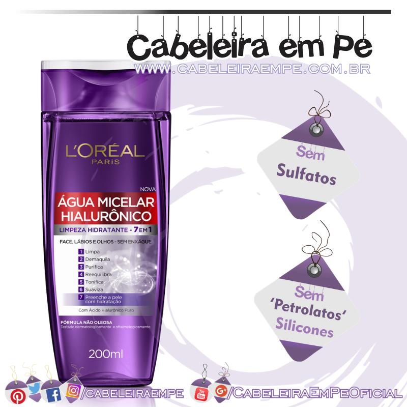 Água Micelar Hialurônico - L'Oréal