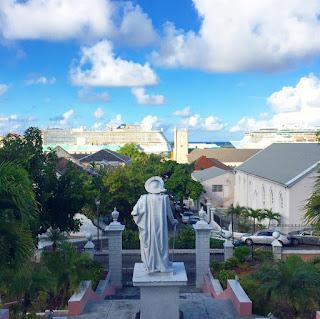 View from Government House in Nassau, Bahamas - curiousadventurer.blogspot.com