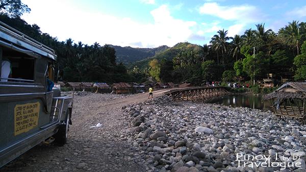 Wooden bridge at Barangay Daraitan