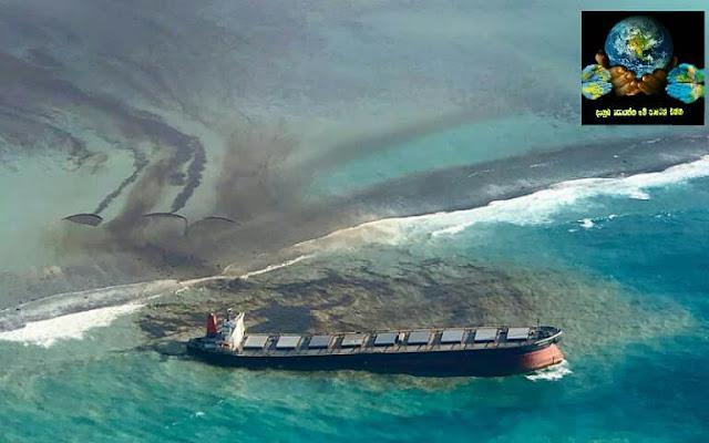 1. වකාෂියෝ තෙල් කාන්දුව (Wakashio oil spill)