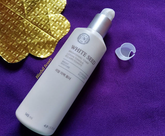 The Face Shop White Seed Brightening Toner Review