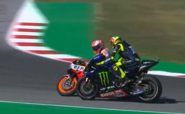 MotoGP San Marino, Sesi Kualifikasi, Diwarnai Ketegangan Rossi Dan Marquez