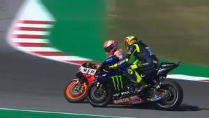 MotoGP San Marino, Sesi Kualifikasi Diwarnai Ketegangan Rossi Dan Marquez
