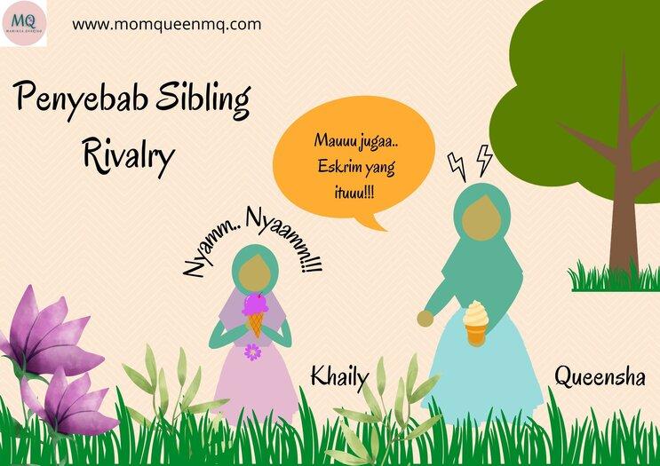 Penyebab sibling rivalry