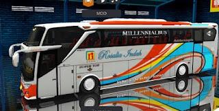 Bus Rosalia Indah.