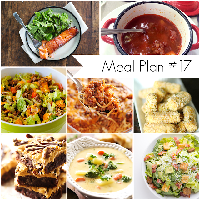 Ioanna's Notebook - Meal Plan #17 - A selections of delicious and healthy recipes for the whole family