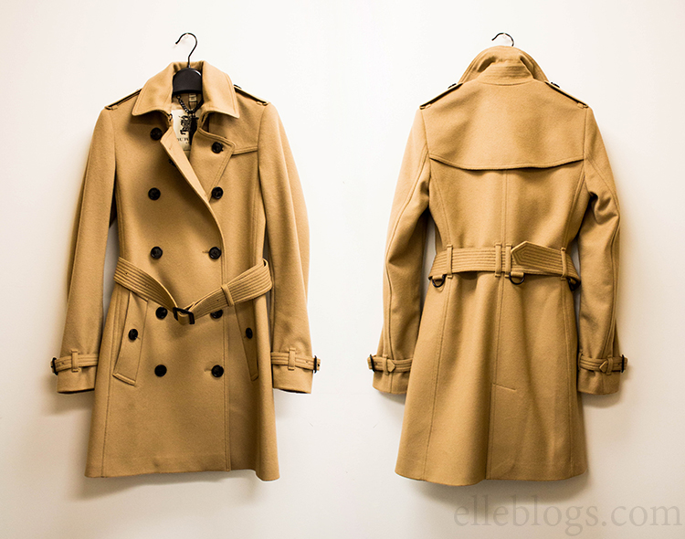 Review: Burberry London Kensington Fit Wool Cashmere Trench Coat in Camel