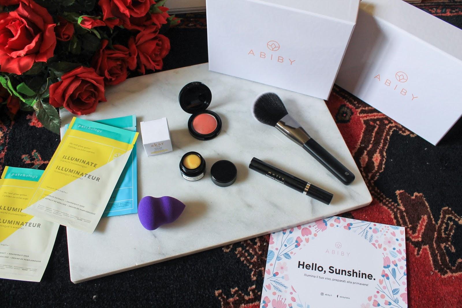 Abiby beauty box aprile 2018