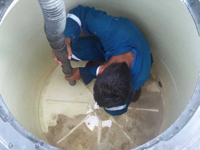 vaciado limpieza depósitos agua potable sevilla