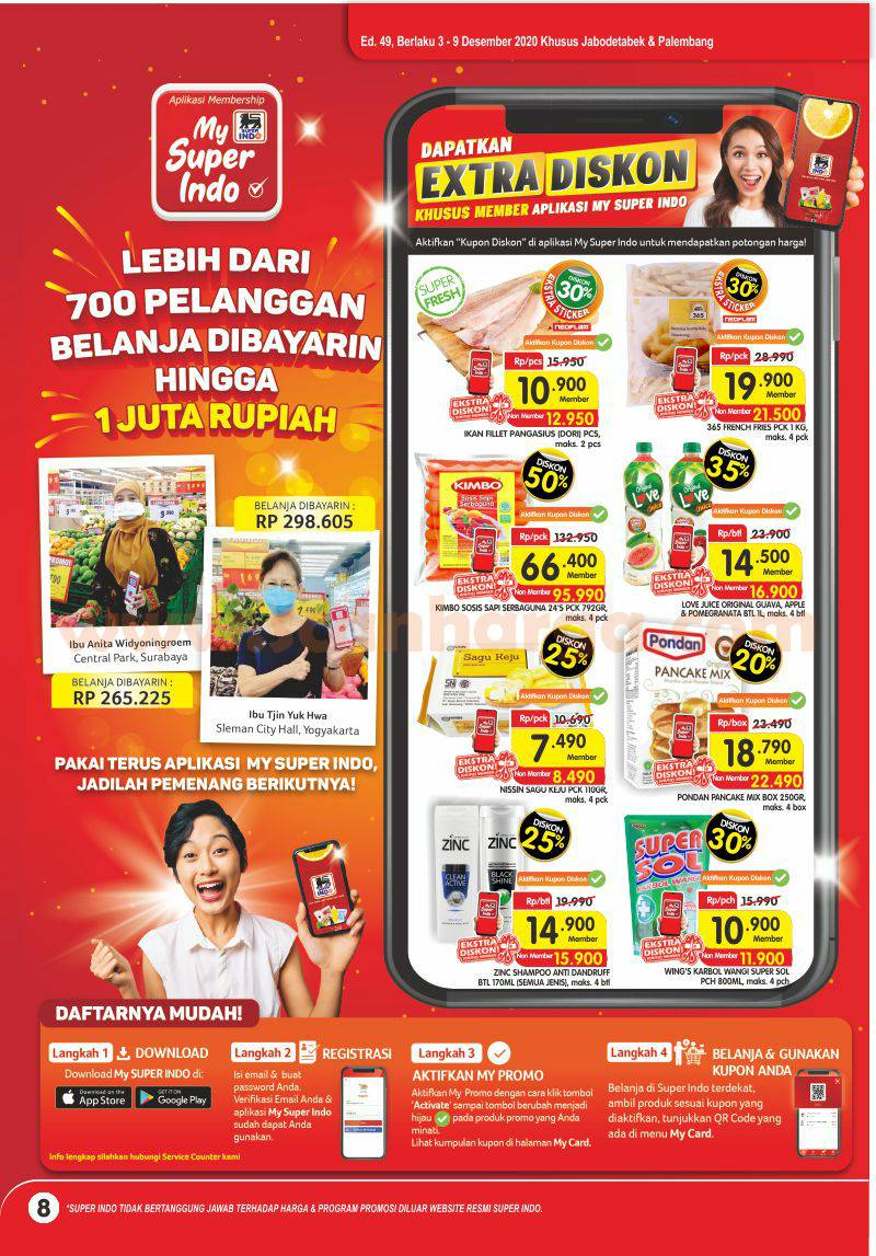 Katalog Promo Superindo Terbaru 3 - 9 Desember 2020 8