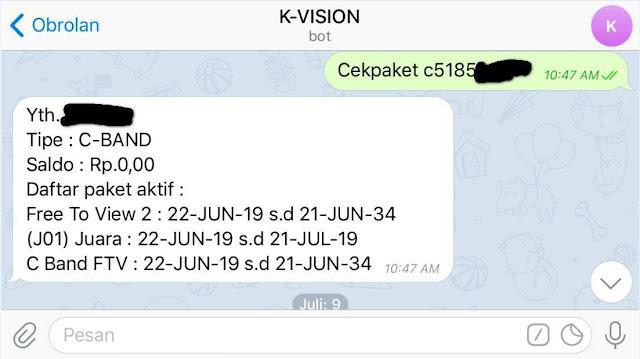 K-vision Bromo C2000 Bisa C-band dan Ku-band