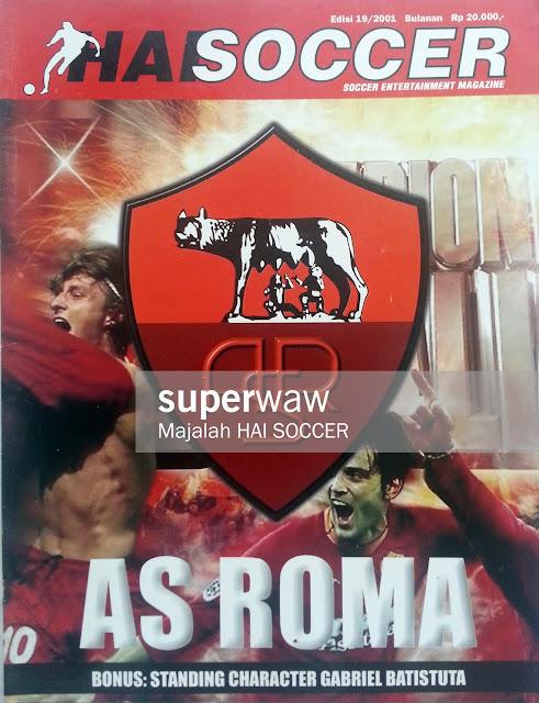 Majalah HAI SOCCER AS ROMA