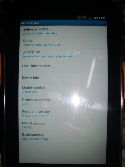 ROM stock Samsung Galaxy Tab (SHW-M180L) cứu máy treo logo