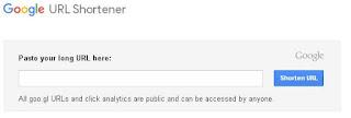Cara Memperpendek URL dengan Google Shortener