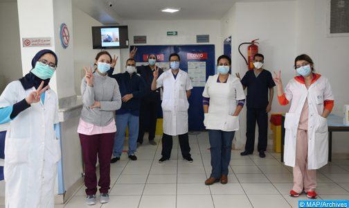 تسجيل 282 حالة شفاء منذ بداية وباء كورونا بجهة مراكش آسفي