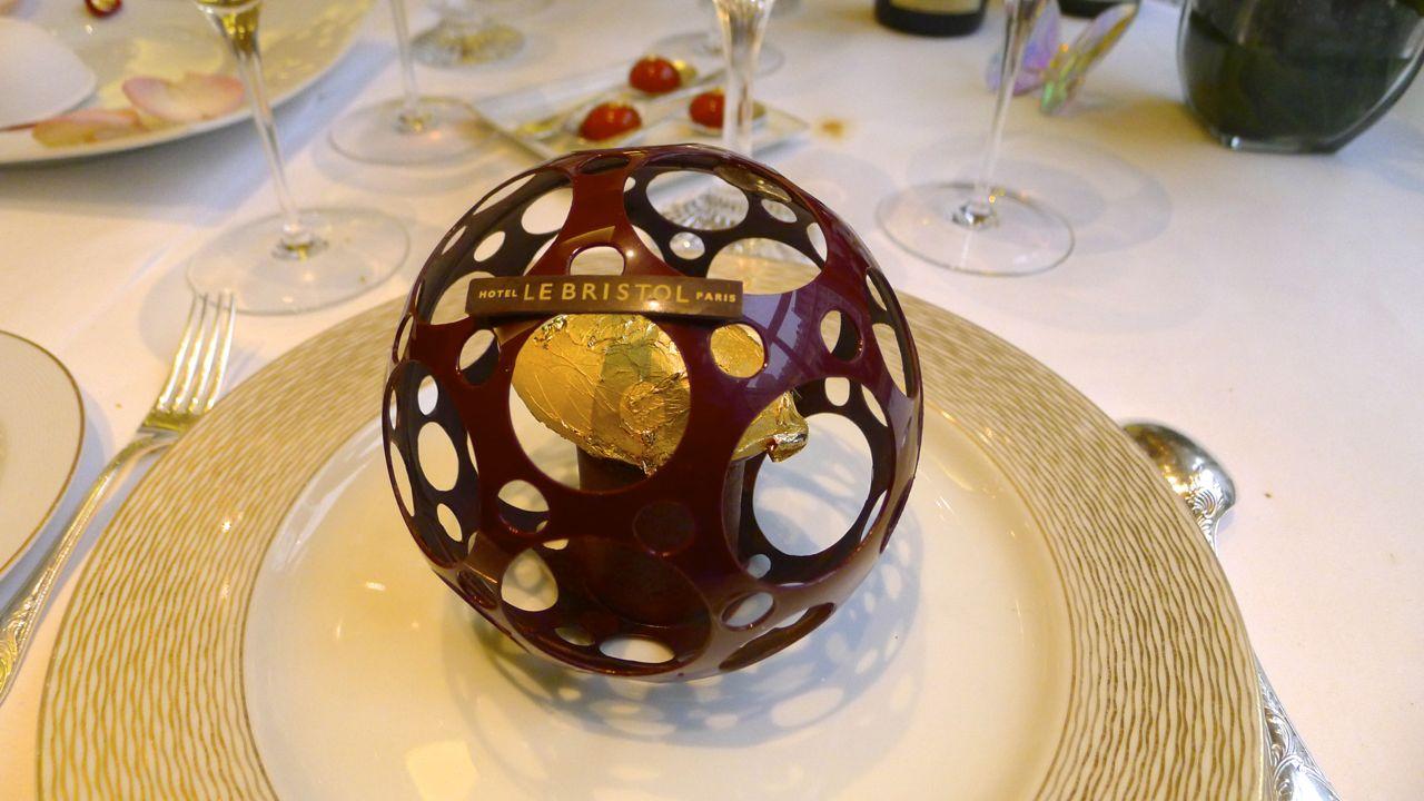 Gastroenophile: Palace Hotel restaurants in Paris: Eric