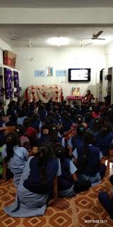 गांधी जयंती व शास्त्री जयंती मनाई