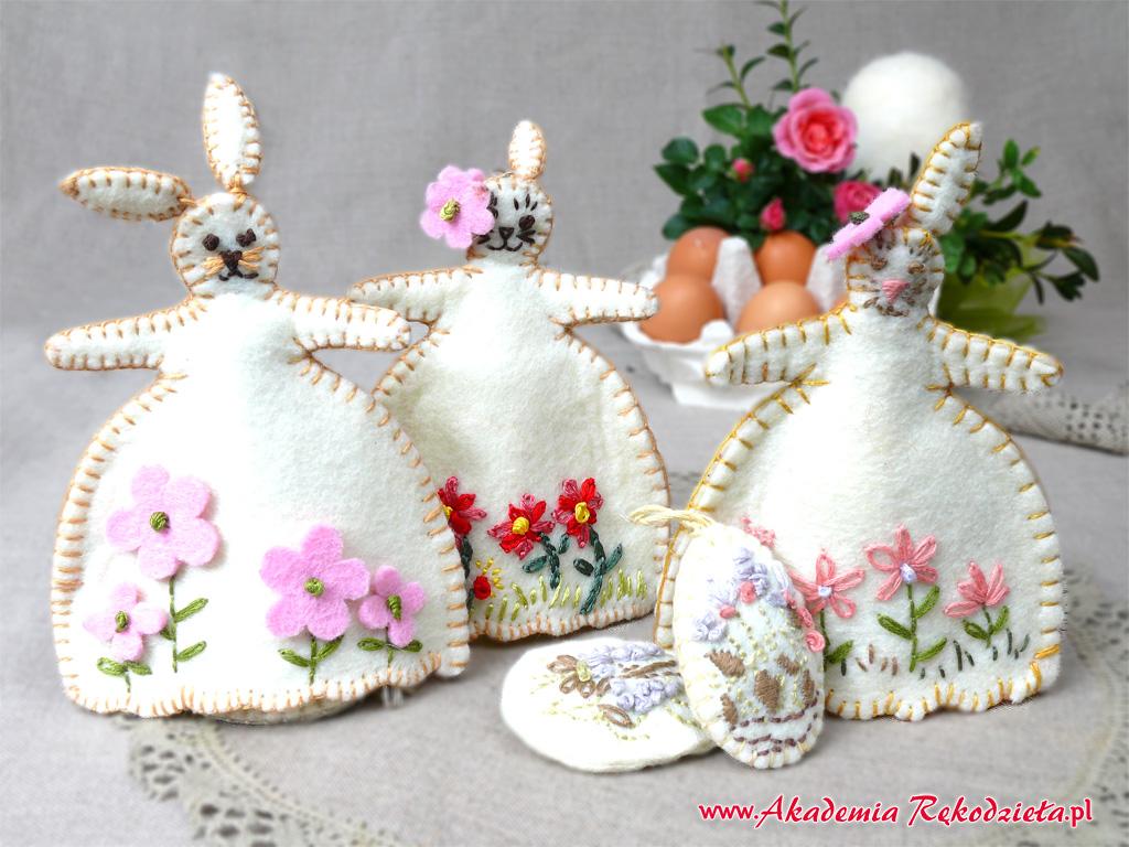 Akademia Rękodzieła Bocian Wielkanocne Dekoracje