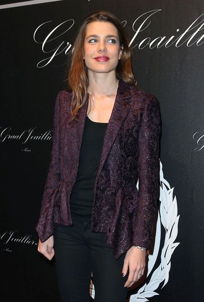 Princess Charlotte Casiraghi at the opening gala of the Gucci Paris Masters 2012 at the Paris Nord Villepinte in Paris