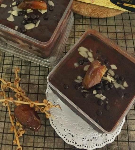 Resep Dessert Box Nyoklat Kurma