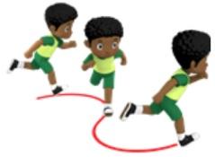 soal variasi gerakan berlari sd kelas 3
