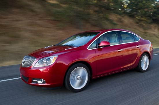 2013 Buick Verano was Recognized as Most Dependable Vehicle
