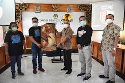 I Dewa Agung Gede Lidartawan Terima Kunjungan KPU Papua dan 11 Kabupaten Penyelenggara