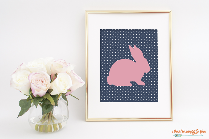 Preppy Easter Bunny Prints