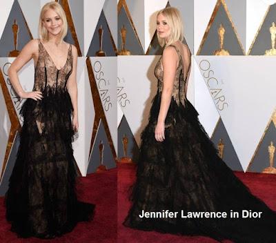 Jennifer%2BLawrence%2Bin%2BDior - Look Óscares 2016