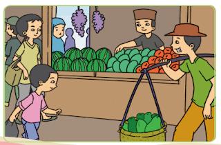 gambar pedagang buah pepaya www.jokowidodo-marufamin.com