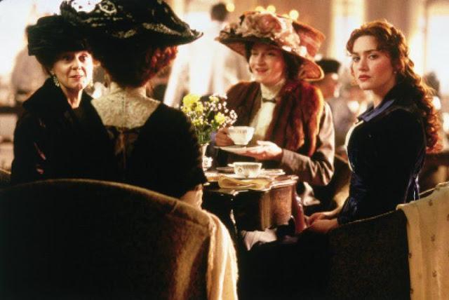 Persoangens históricos Titanic filme