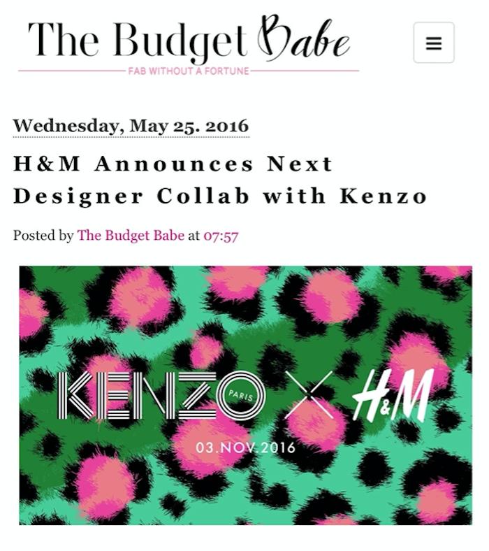 e2f3e129c994e behind the leopard glasses: Kenzo x H&M {My picks for TOMORROW!}