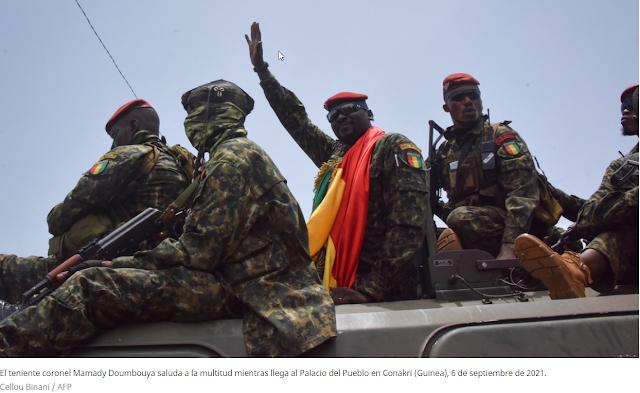 El golpe de Estado en Guinea podría tener algo que ver con una carrera entre EE.UU. y China por el dominio de las materias primas