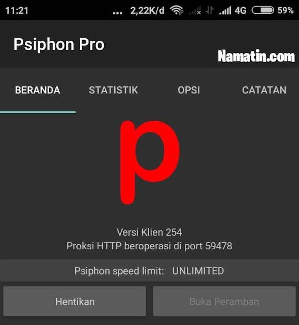 psiphon pro unlimited mod apk