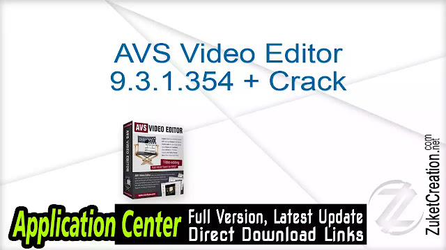 AVS Video Editor 9.0.1.328 + Patch