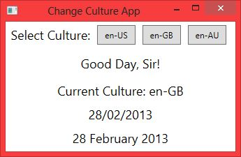 Jeremy Bytes: Changing Culture in WPF