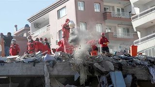 حربوشة نيوز، يديعوت أحرنوت، تركيا، زلزال إزمير، إسرائيل، رجب طيب إردوغان