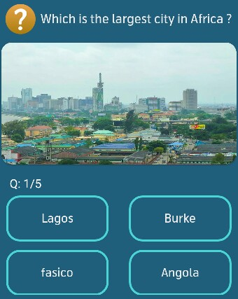 Which is the largest city in Africa?