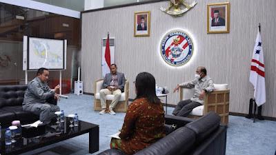 Kepala Bakamla RI Terima Kunjungan Wakil Ketua DPD RI dan Wamenkumham
