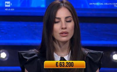Giulia De Lellis foto viso i soliti ignoti 1 aprile