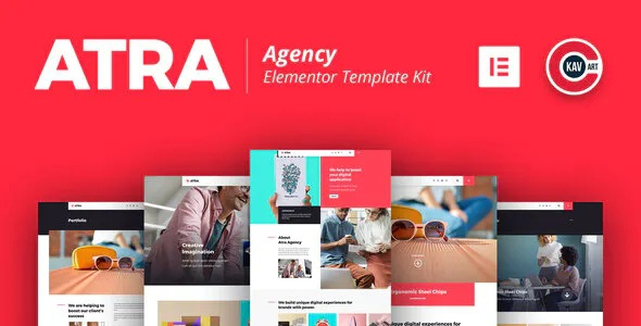Creative Agency Elementor Template