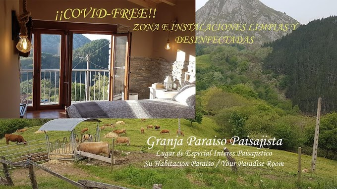Turismo en Asturias, España. Review Hoteles: Casa De Aldea Granja Paraíso
