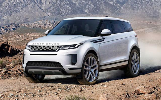 Range Rover Evoque có thiết kế đầu xe không quá khác biệt với phiên bản cũ