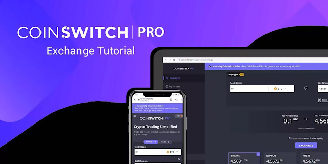 Coinswitch Exchange Swap